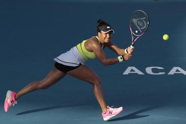 Heather Watson is through to the final in Acapulco
