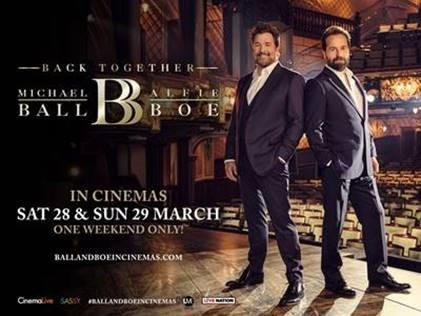 Michael Ball and Alfie Boe are getting back together