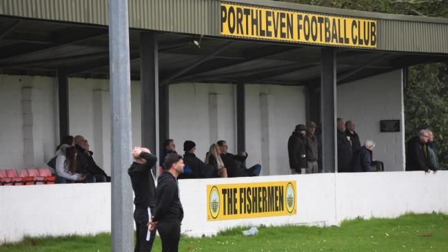 Porthleven are eighth in the SWPL Premier West at the time of the suspension of football