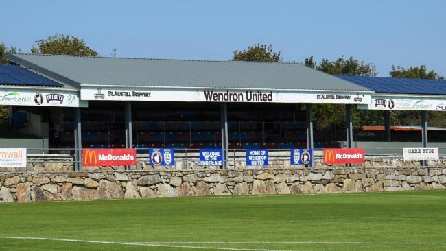 Wendron United missed out on eight home games worth of income after the 2019/20 season ended prematurely