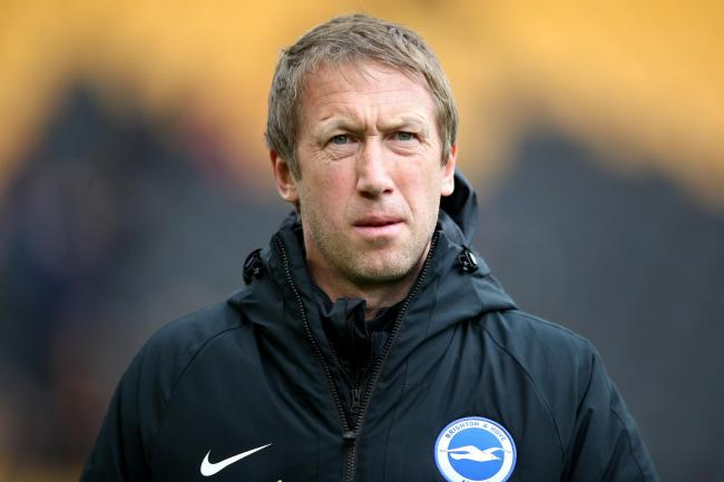 Brighton boss Graham Potter has been impressed with the attitudes of his players
