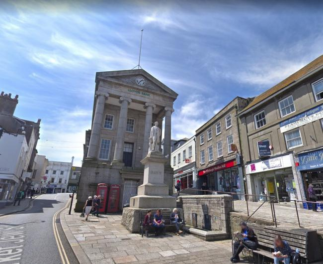 Penzance Town Council has redirected its Social Action Fund during the coronavirus pandemic. Picture: Google