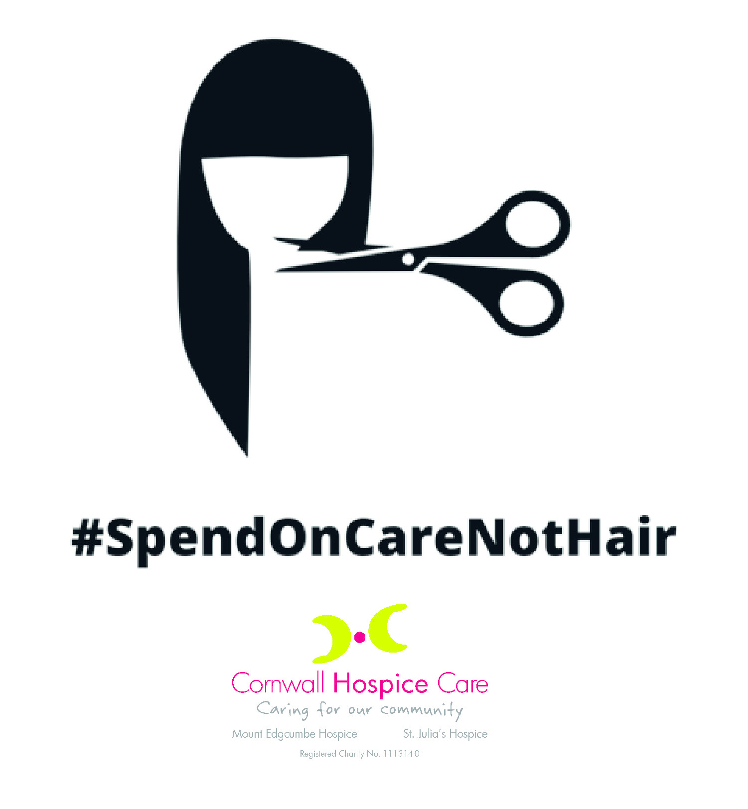 Charity launches 'care not hair' campaign to raise much-needed funds