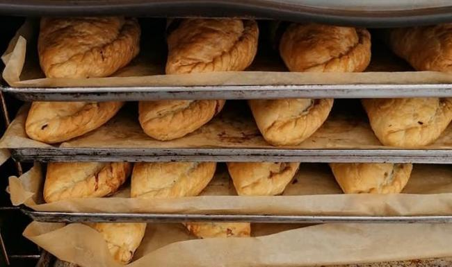 Pips pasties are back on sale and can also be delivered to people's homes. Photo: Pips Pasties