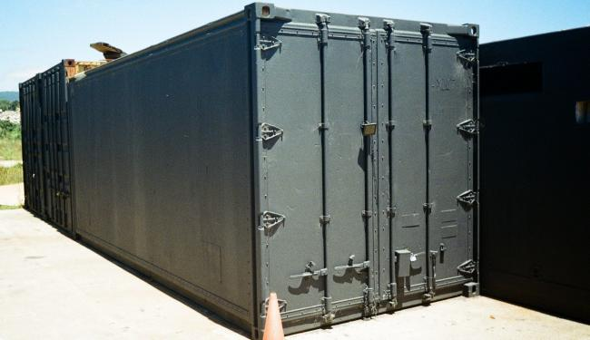 Stock photo of a shipping container. Photo: Matthew Paul Argall