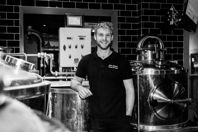 Mike Mason, the new head brewer at The Driftwood Spars