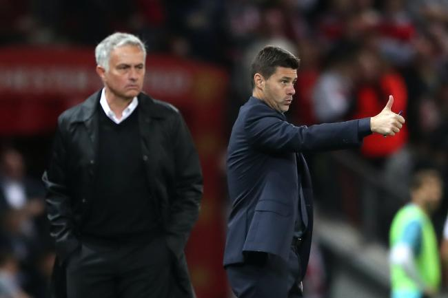 Jose Mourinho replaced Mauricio Pochettino at Tottenham in 2019