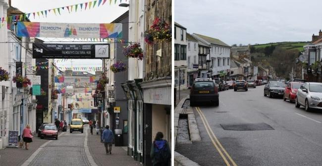 Businesses in Falmouth and Helston are starting to reopen