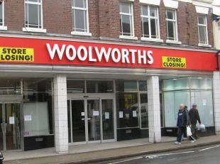 The building when it used to be a Woolworths store
