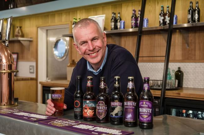 St Austell Brewery's head brewer Roger Ryman has died aged 52