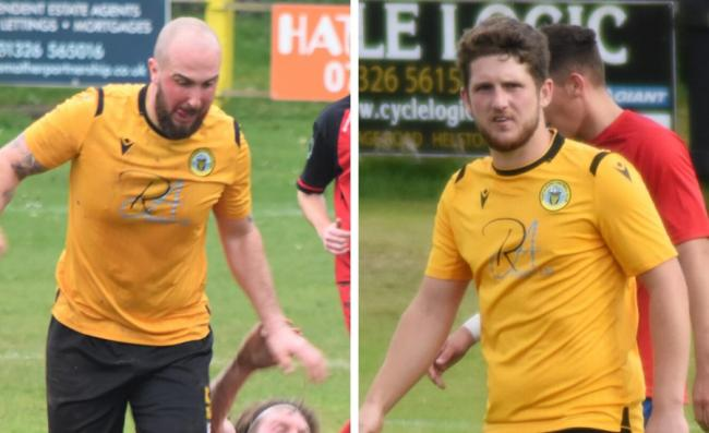 Hugh Howlett and Charlie Young are the new captaincy duo at Porthleven