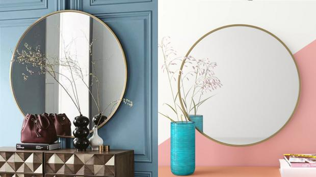 Falmouth Packet: A bigger, more modern mirror will create the illusion of more space. Credit: Wayfair