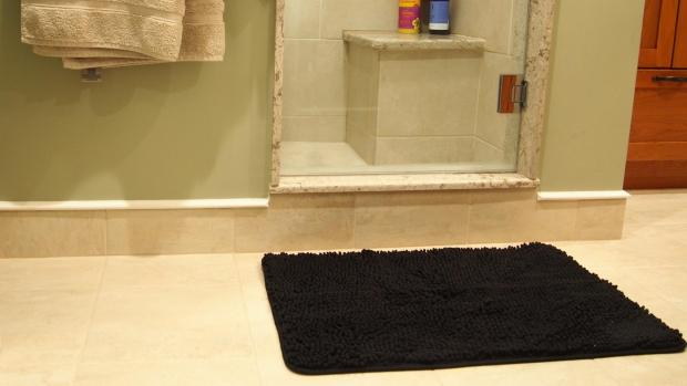 Falmouth Packet: A stylish bath mat can brighten up your space. Credit: Reviewed / Kori Perten
