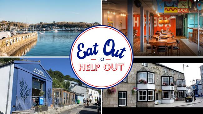 The restaurants in Cornwall taking part in the Eat Out to Help Out scheme