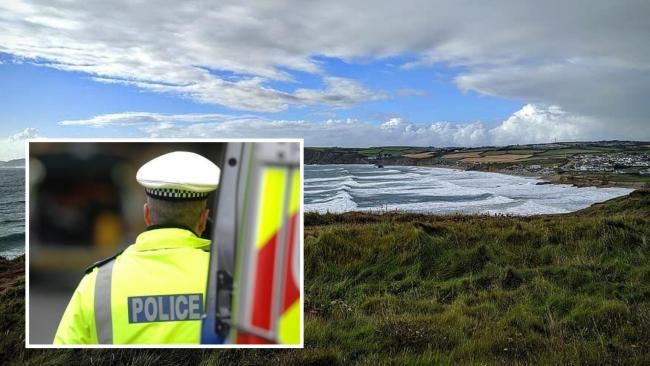 A body has been found at Widemouth Bay in Bude in the hunt for a missing woman from Penzance