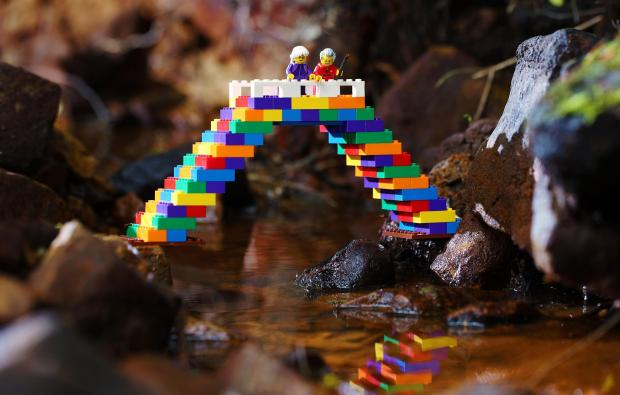 Falmouth Packet: Picture: Lego Facebook Page