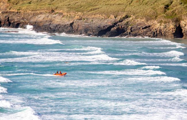 Taken at Perranporth in July. Picture: RNLI