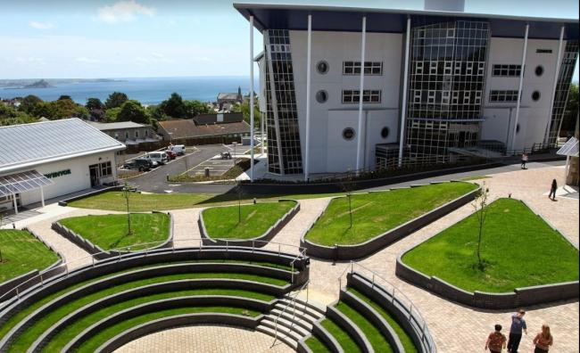 A group of students at Penwith College are isolating after a positive test result. Photo: Truro and Penwith College