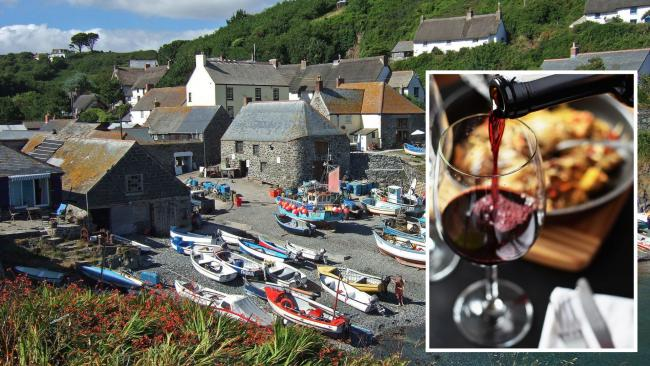 Cadgwith could be getting a wine and tapas bar. Main image: Darren Beswick