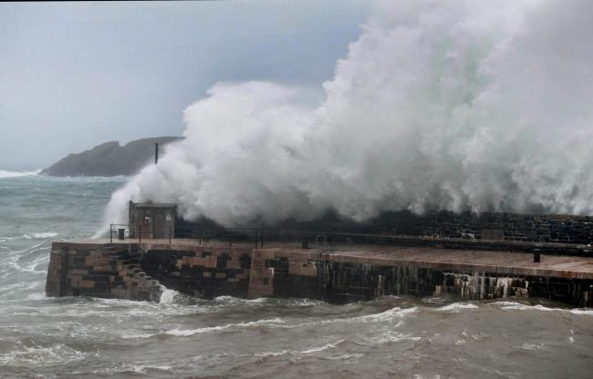 Flooding warnings for Cornwall as coastal areas told to take 'immediate action'. File image of Mullion Harbour: Colin Higgs