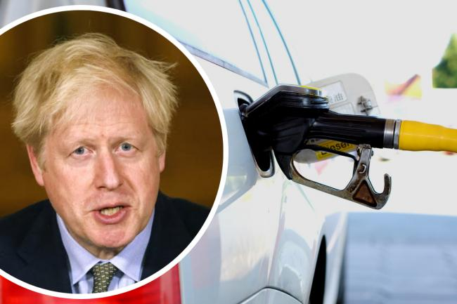 Prime Minister Boris Johnson has announced a plan to ban sales of petrol and diesel cars and vans in the UK by 2030. Pictures: PA/Pixabay/Newsquest