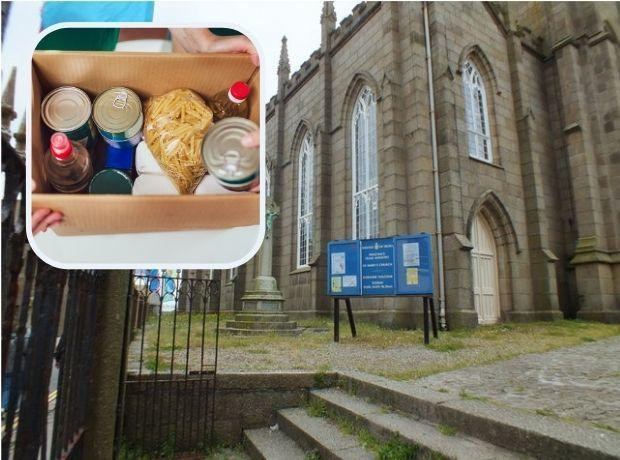 St Mary's Church is hoping more people in need will come along to get some food.