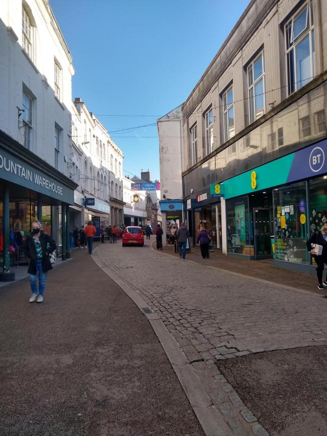Shopping will be free on Saturdays in Falmouth throughout December