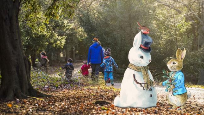 Families can enjoy a Peter Rabbit trail at National Trust properties in Cornwall this winter. Pictures: National Trust Chris Lacey / FWarne & Co. Ltd 2020