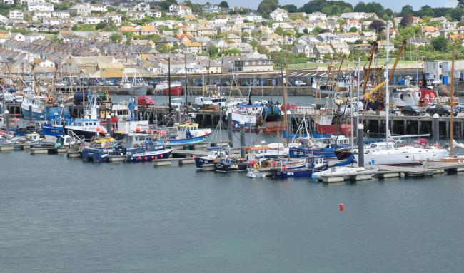 Newlyn has become a designated port of fish landings. Picture from file: Nilfanion/Wikimedia Commons