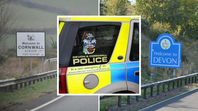 Devon and Cornwall Police were called to 250 Covid breaches in one shift on Saturday