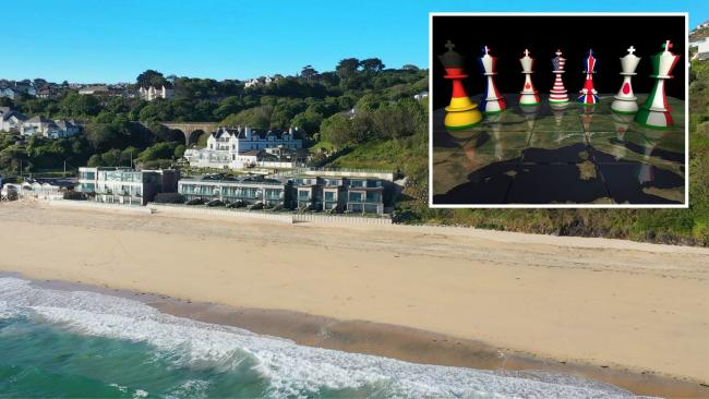 The Carbis Bay Estate will host the G7 delegates in June. Pictures: Carbis Bay Hotel/Getty Images