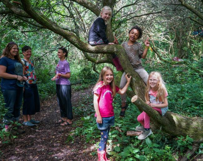 The Prislow Woods group organised monthly events to raise funds for the project