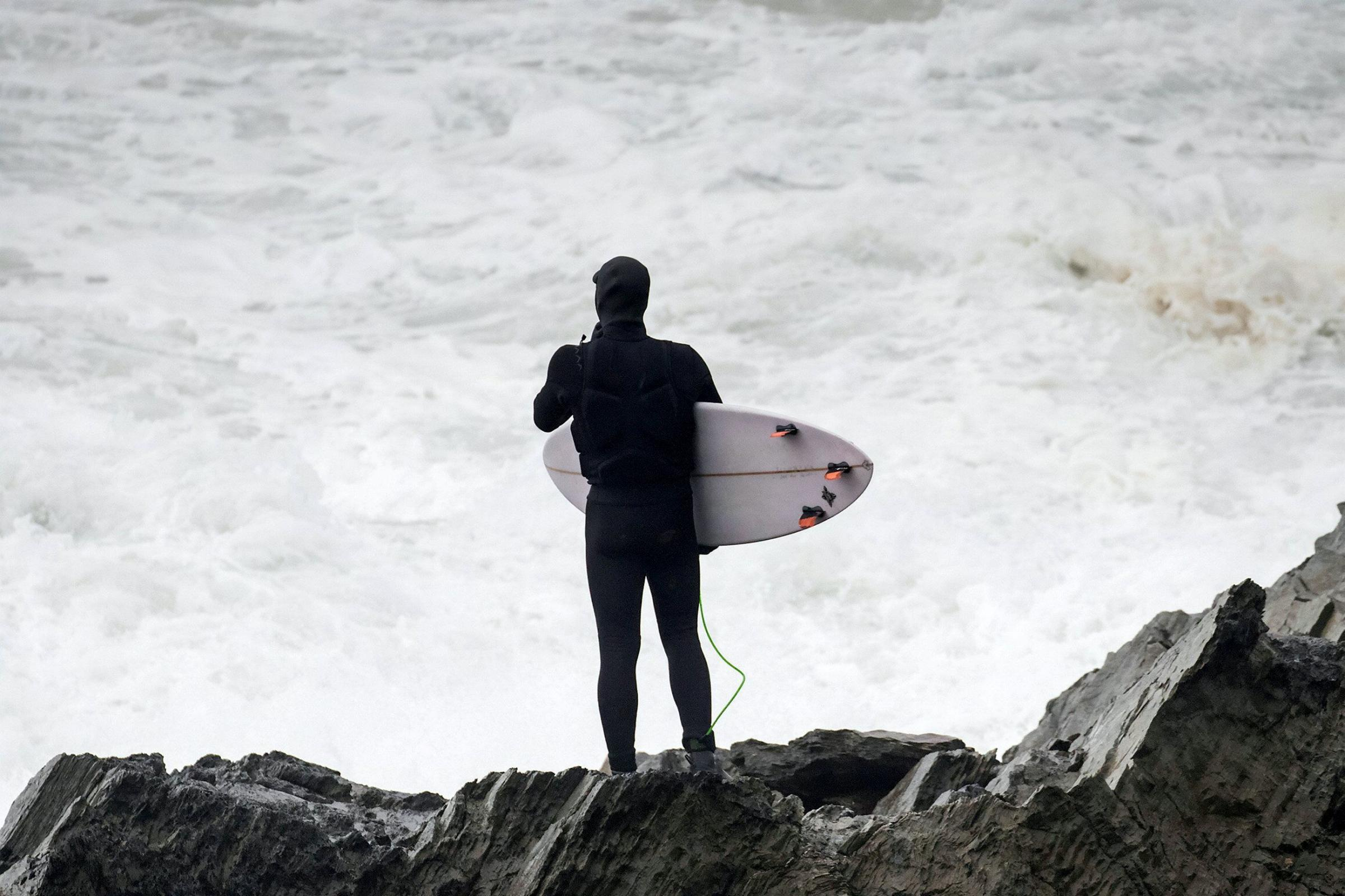 File image of a surfer. Picture: Roger Sharp/SWNS