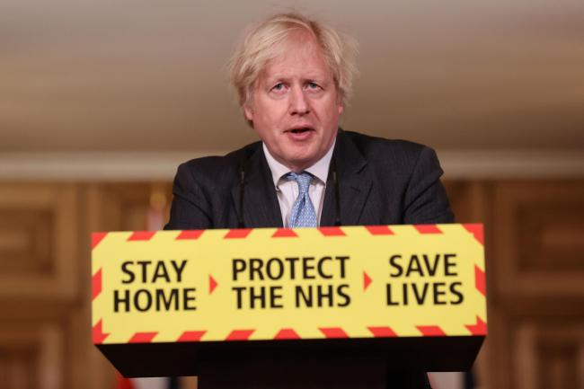 What time is Boris Johnson going to unveil roadmap out of lockdown?