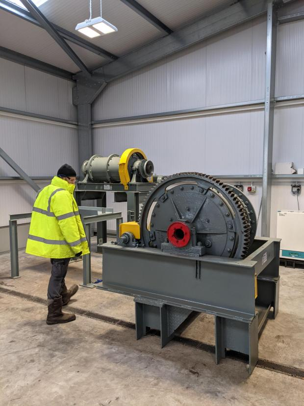 Falmouth Packet: The BIG Productivity investment based Grinding Solutions to purchase equipment that will help the company grow and expand its services. (Credit:PR)