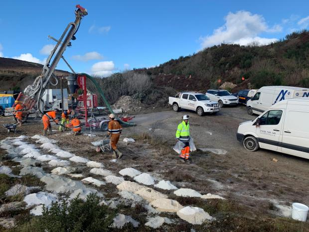 Falmouth Packet: BLL was the first company in the UK to embark on a drilling programme for lithium in 2019 and is now the first in the world to be progressing commercial extraction of lithium carbonate (Credit:PR)