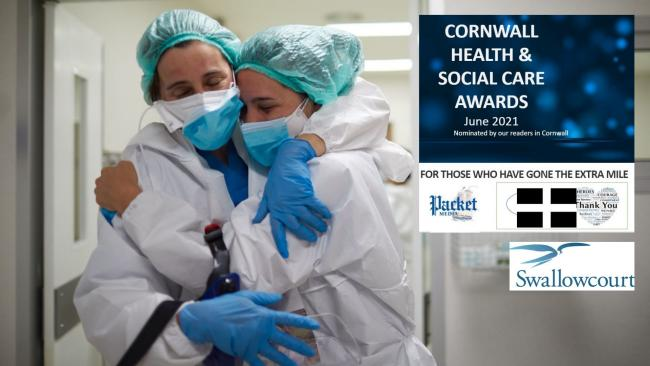Nomination for the Cornwall Health & Social Care Awards via a new website. Picture: Getty Images