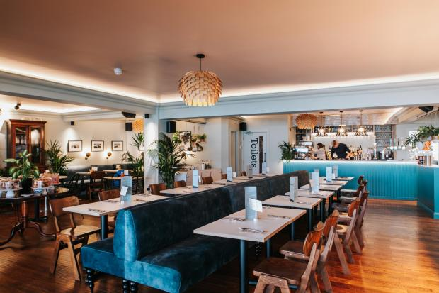 Falmouth Packet: While indoor dining is not currently allowed, guests can look forward to enjoying IndiDog's interiors once restrictions lift.