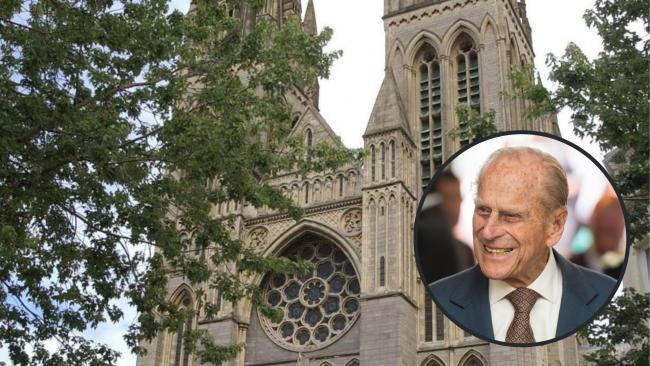 Truro Cathedral bell in Cornwall tolled 99 times in tribute to Prince Philip the Duke of Edinburgh. Pictures: PA