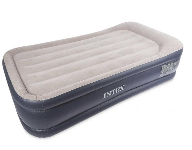 Falmouth Packet: Intex Single Raised Airbed. (Aldi)
