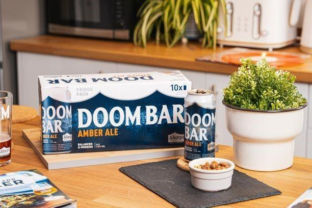 Falmouth Packet: Doom Bar will now be available in a 10x440ml can 'fridge' pack.