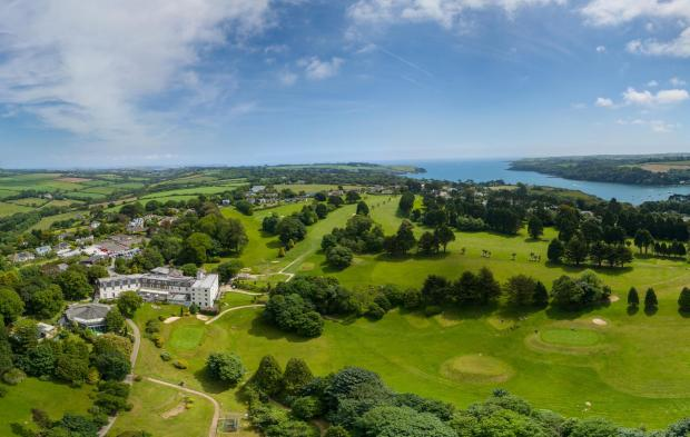 Falmouth Packet: The picturesque scenery surrounding the Buddock Vean Hotel