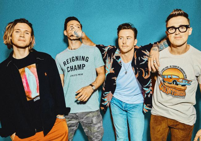 Pop band McFly will appear the Eden Project in Cornwall this September