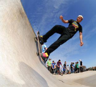 Campaign boost event for new Falmouth skatepark