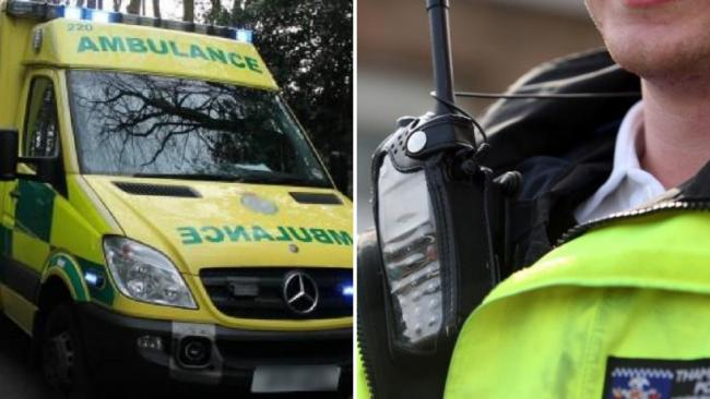 Both the ambulance service and police in Devon  and Cornwall are seeing high demand
