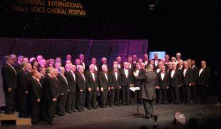 Four Lanes Male Voice Choir, who will perform at the Gala Concert at Redruth Methodist Church on February 12 as curtain-raiser for this year's Cornwall International Male Voice Choral Festival.