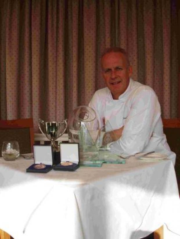 Falmouth chef cooks up prize winning performance