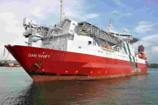 Dan Swift refit begins (From Falmouth Packet)