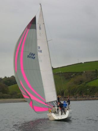 SAILING: Smaller field compete in latest Hine-Downing Series race