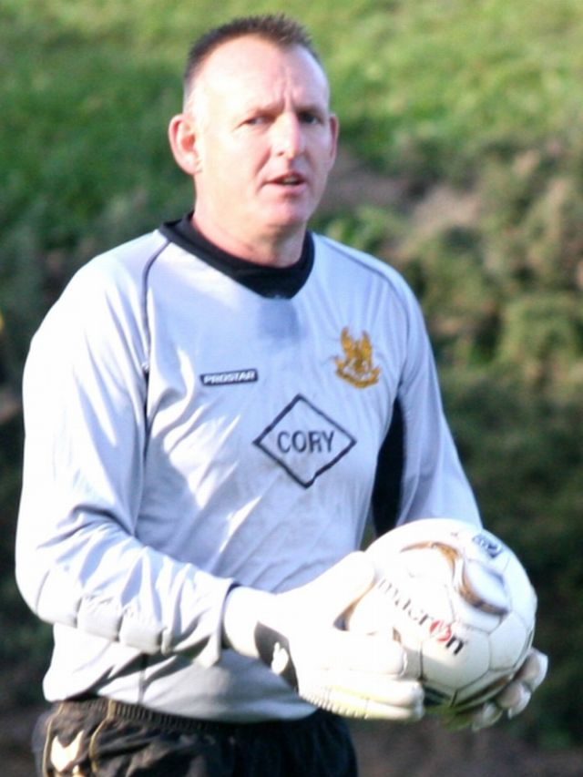 Helston manager Sid Taylor